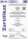 DACHSER-Zertifikat IFS