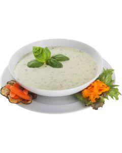 Basilikum-Käse-Creme-Suppe, instant, okZ