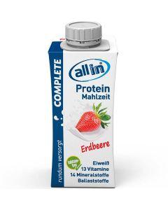 allin COMPLETE Protein Mahlzeit Erdbeere