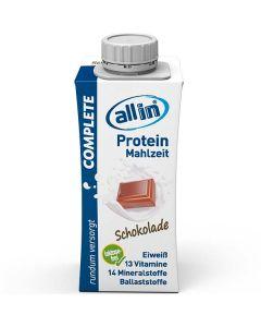allin COMPLETE Protein Mahlzeit Schokolade