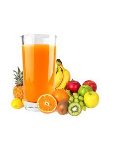 Getränkepulver mit Multifrucht-Geschmack, instant, okZ, -A