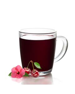 Getränkepulver Glühpunsch mit Hibiscus-Kirsch-Geschmack, instant, okZ, -A -Saisonartikel-