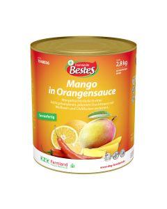 Mango in Orangensauce mit Chiliflocken okZ, servierfertig