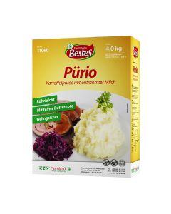 Pürio Kartoffelpüree mit entrahmter Milch, okZ
