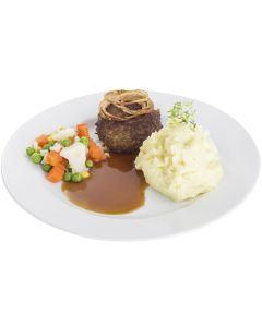 Kartoffelflockenpüree komplett mit entrahmter  Milch (Cook + Chill Püree) - auch zum kalt anrühren geeignet, okZ
