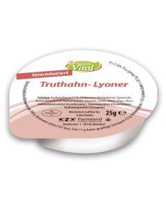 Truthahn-Lyoner, fettreduziert, -A
