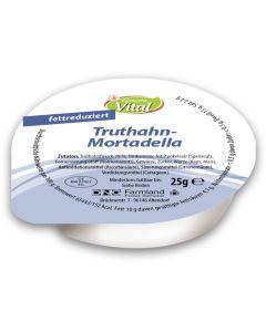 Truthahn-Mortadella, fettreduziert, -A