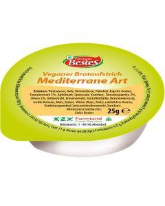 Vegetarischer Brotaufstrich Mediterrane Art, -A