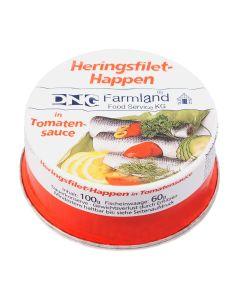 Heringsfilet-Happen in Tomatensauce, okZ