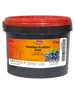 Konfitüre extra, Heidelbeere, okZ, -A