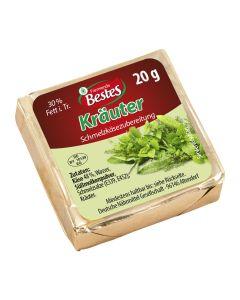 Schmelzkäsezubereitung Kräuter, okZ
