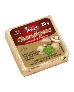 Schmelzkäsezubereitung Champignon, okZ