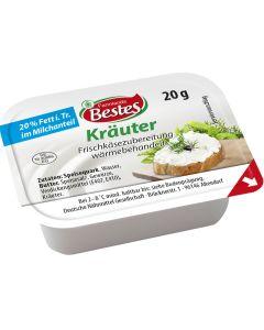 Frischkäsezubereitung Kräuter 20% Fett i.Tr., okZ