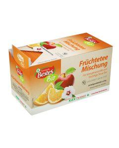 Bio-Früchtetee-Mischung, kuvertiert, okZ, -A