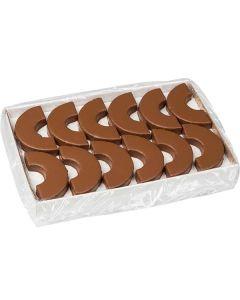 Baumkuchen 1/2 Ring überzogen mit Vollmilchschokolade