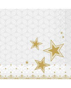 """Weihnachtsservietten """"Vivien"""" 33 x 33 cm 1/4 Falz"""