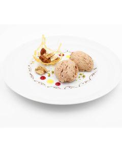 Mousse Walnuss-Geschmack mit Haselnusskrokant, instant, okZ