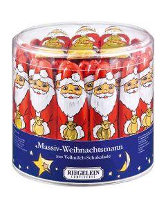 Weihnachtsmänner massiv 12,5 g, Höhe 10 cm