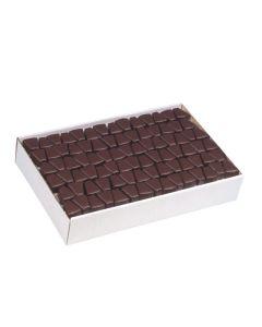 Eierlikör Spitzen überzogen mit Zartbitterschokolade, lose