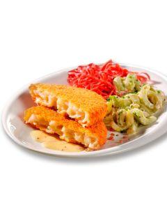 Blumenkohl-Käse-Knusperbratling, vegetarisch, okZ