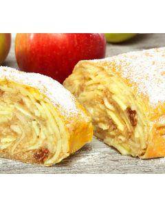 Apfelstrudel portioniert, gebacken, okZ
