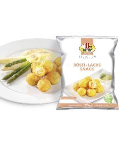 Mini-Kartoffelbällchen Frischkäse-Lachs, okZ