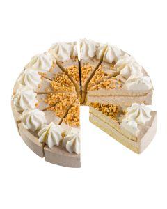 Nuss-Sahne-Torte, 4 x 12 Port.