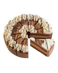 Schoko-Sahne-Torte, 4 x 12 Port.