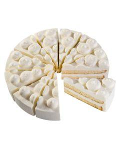 Käse-Sahne-Torte, 4 x 12 Port.