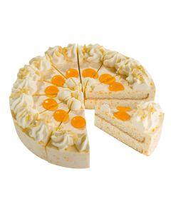 Mandarinen-Sahne-Torte, 4 x 12 Port.