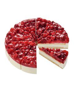 Himbeer-Sahne-Torte, 4 x 12 Port.