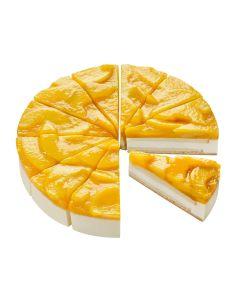 Pfirsich-Sahne-Torte, 4 x 12 Port.