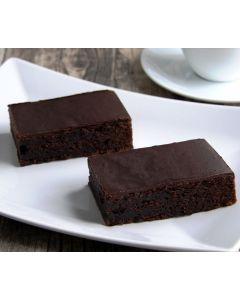 Brownie-Kuchen, dunkle Glasur 4 x 32 Port., okZ