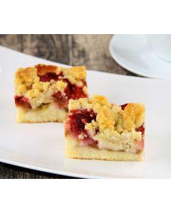 Erdbeer-Rhabarber-Kuchen 4 x 32 Port. -Saisonartikel-