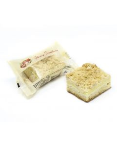 Puddingstreuselkuchen, Flowpack, okZ