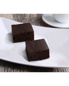 Brownie-Kuchen, dunkle Glasur 2 x 40 Port., okZ