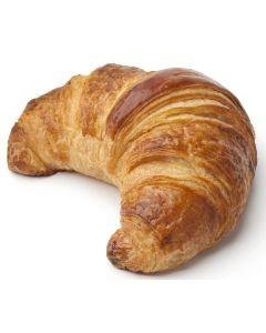 Butter-Croissant, mit 25% Butter, gebogen, vorgegart