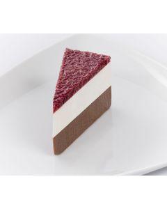Desserttortenstücke Schwarzwälder-Kirsch-Art