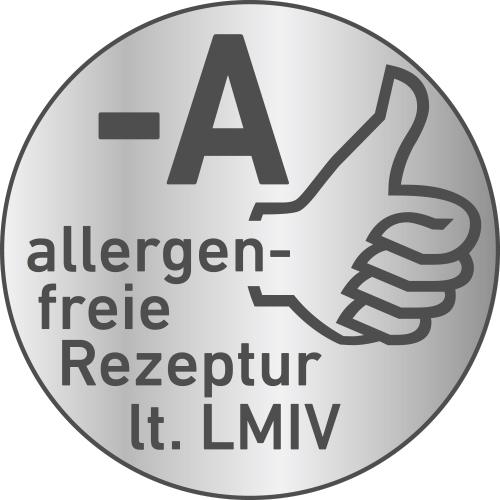 Allergenfreie Rezeptur lt. LMIV